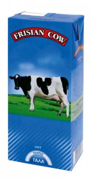 Γάλα Frisian cow Πλήρες