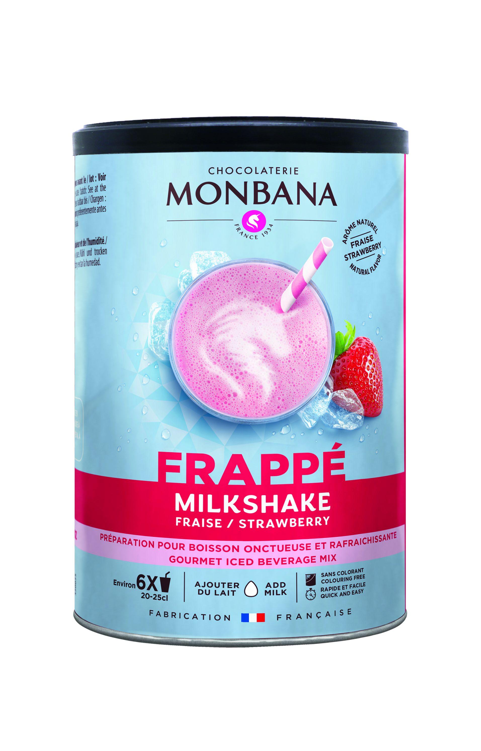 Milkshake Monbana Φράουλα