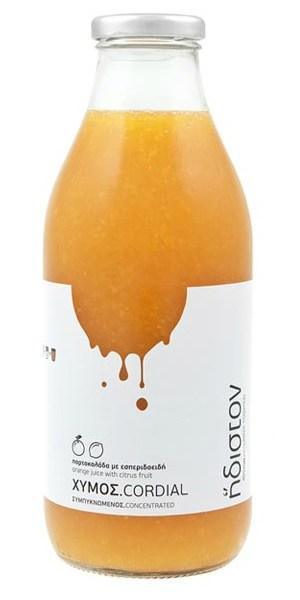 Συμπυκνωμένος χυμός πορτοκάλι με εσπεριδοειδή